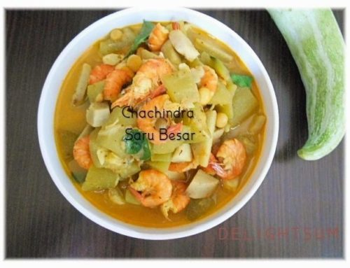 CHACHINDRA SARU BESAR | SNAKE GOURD MIXED MUSTARD CURRY…
