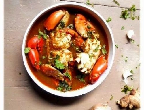 CRAB CURRY -TRULY ODIA