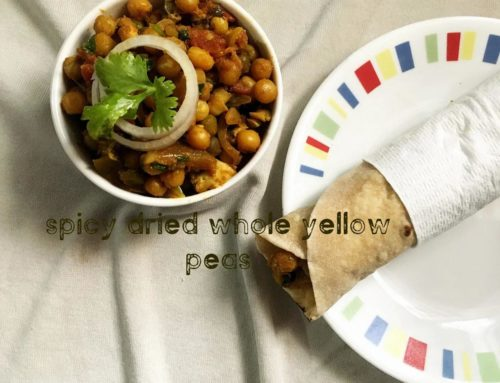 Spicy Dried Whole Yellow Peas